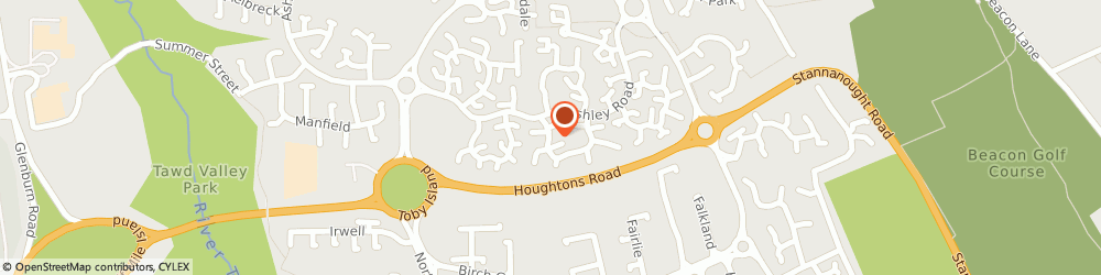 Route/map/directions to Lathom Heating, WN8 6TX Skelmersdale, 24 Ledburn