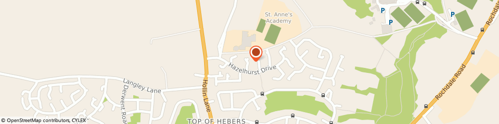 Route/map/directions to Assured Advanced Access, M24 6TB Manchester, 2 Carrick Gardens