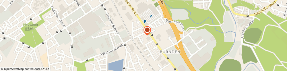 Route/map/directions to Dulux Decorator Centre - Bolton, BL3 2RX Bolton, 7 Weston Street