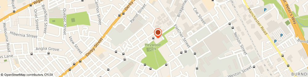 Route/map/directions to Bupa Care Homes, BL3 6SA Bolton, Mill View Residential and Nursing, Bridgeman St