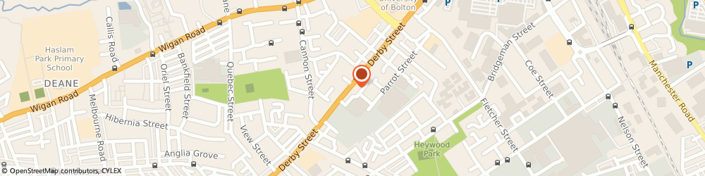 Route/map/directions to Sass Limited, BL3 6JT Bolton, 189 Derby Street