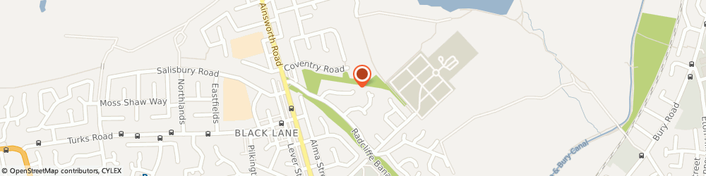 Route/map/directions to Fancy Cakes By Rachel, M26 4FS Radcliffe, 25 Bridgemere Cl