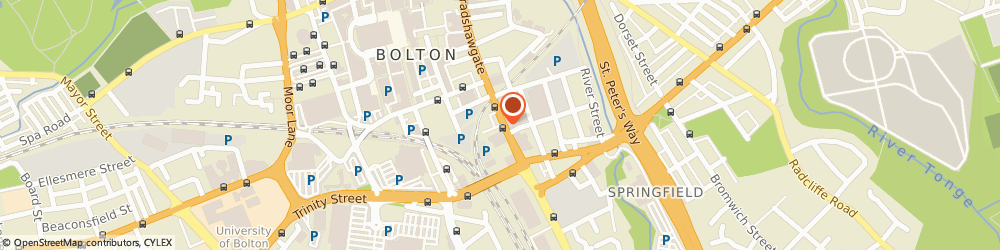 Route/map/directions to Microtech Av Services, BL2 1BA Bolton, 140 Bradshawgate