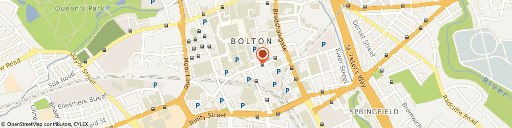 Route/map/directions to Big Size Menswear, BL1 1NJ Bolton, 38 Great Moor Street