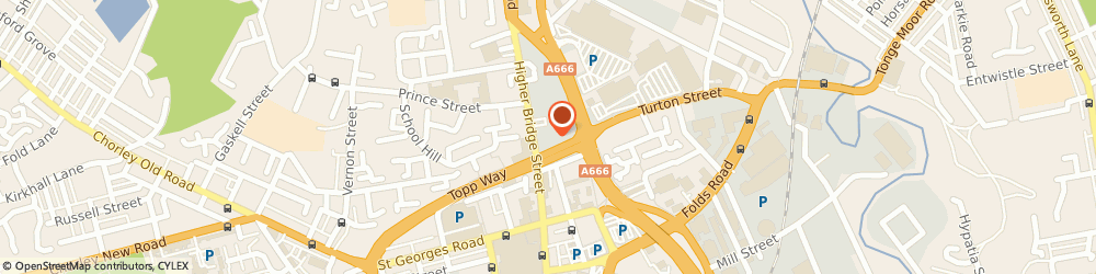 Route/map/directions to Capitol Fire & Security Systems Ltd, BL1 9JG Bolton, Street
