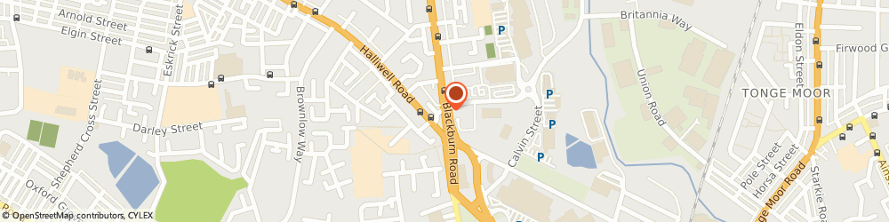 Route/map/directions to Arkwright Insurance Brokers, BL1 8HF Bolton, 115 Blackburn Rd