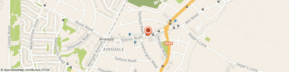 Route/map/directions to SKIN DEEP, PR8 3HS Southport, 34 Station Road