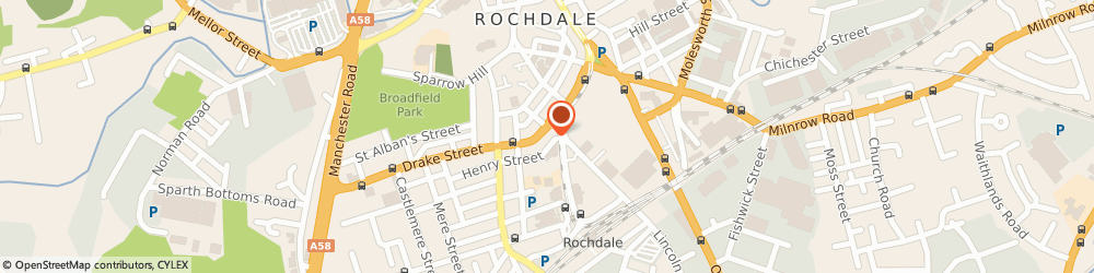 Route/map/directions to document scanning, OL16 1PZ Rochdale, 105 Drake St