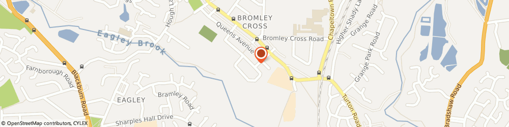 Route/map/directions to ABR Plumbing & Heating Services Ltd, BL7 9BN Bromley Cross, 47, Chetwyn Avenue