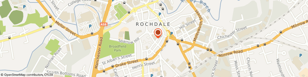 Route/map/directions to Vagbremtechnic Limited, OL16 1QN Rochdale, 12 MOORE STREET