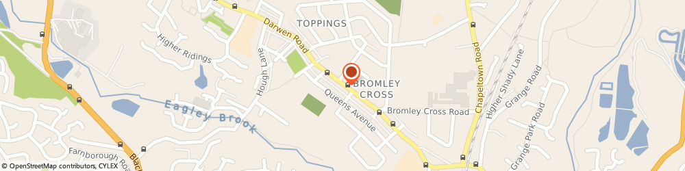 Route/map/directions to Bargain Booze Plus, BL7 9BS Bolton, 217-219 Darwn Road