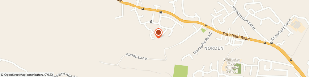 Route/map/directions to Hulz Limited, OL11 5TP Rochdale, 163 HAREWOOD DRIVE