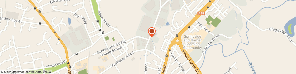 Route/map/directions to Visus Solutions Ltd, OL12 9DJ Rochdale, Hafley Court Buckley Rd
