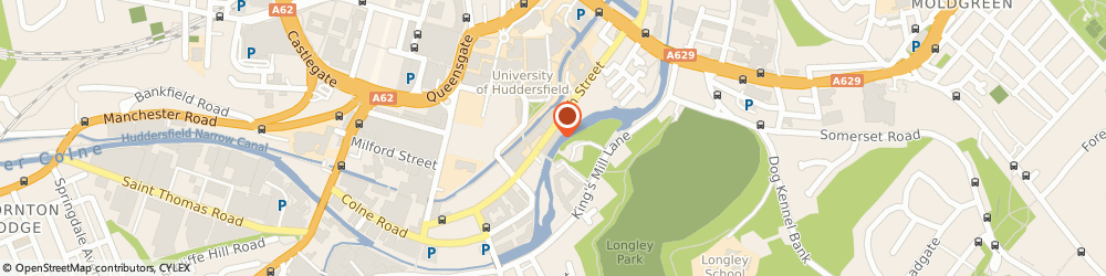 Route/map/directions to Horizon Risk Consultancy Ltd, HD1 3BD Huddersfield, 3M Buckley Innovation Centre, Firth Street