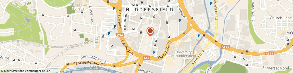 Route/map/directions to No1 Currency - No1 Currency, HD1 2LT Huddersfield, 1 High Street