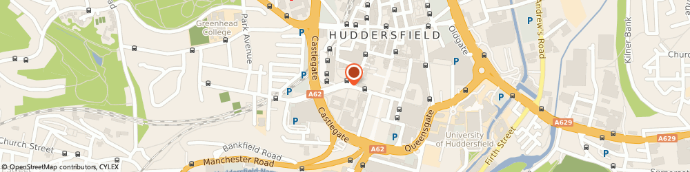 Route/map/directions to Flavaz, HD3 4HT Huddersfield, 98 Market Street