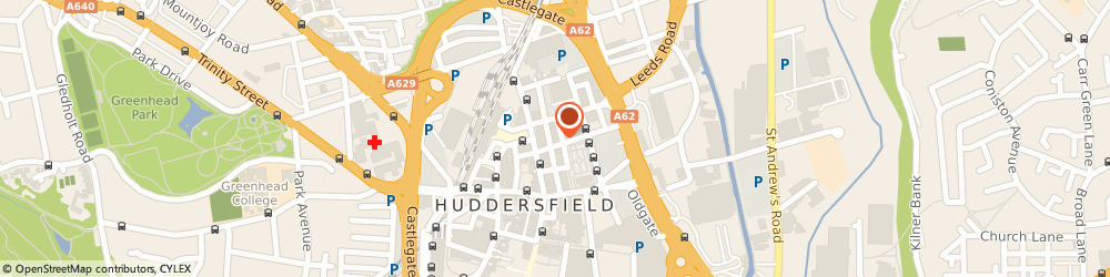 Route/map/directions to Credit Risk Management Ltd, HD1 1DT Huddersfield, Northumberland House, Northumberland Street