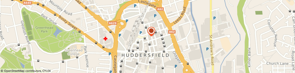 Route/map/directions to Robert Lumley & Associates, HD1 1BG Huddersfield, 22, JOHN WILLIAM STREET
