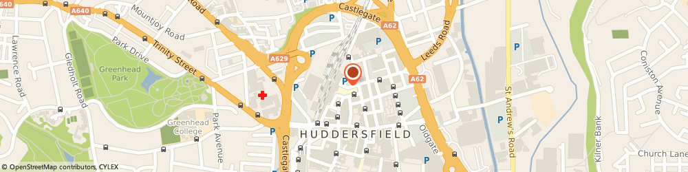 Route/map/directions to bramleys LLP , HD1 1JF Huddersfield, 14 St. Georges Square