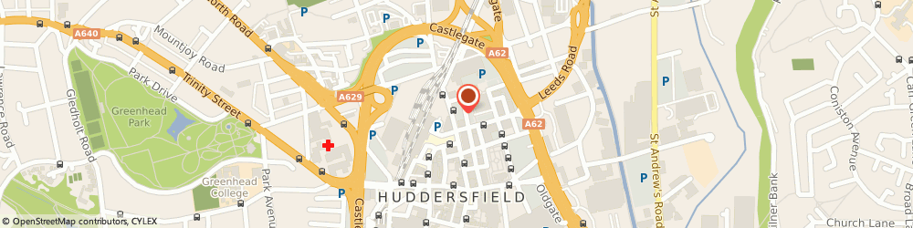 Route/map/directions to WHITEGATES, HD1 1EH Huddersfield, 64-66 John William Street