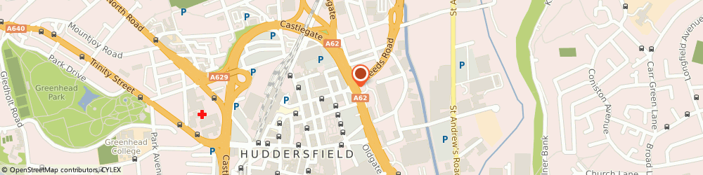 Route/map/directions to Focus Care Services, HD1 1DT Huddersfield, 15 Northumberland Street
