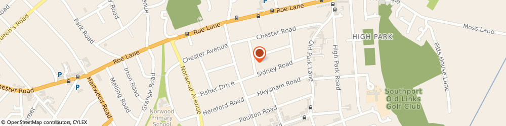 Route/map/directions to Portuguese Translation Services Ltd, PR9 7HB Southport, 24 Bengarth Road