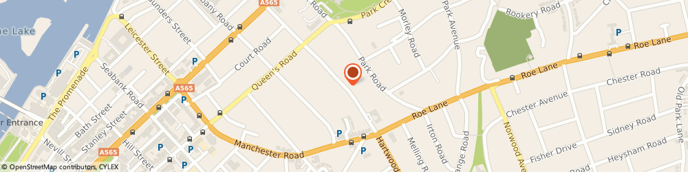 Route/map/directions to Alcoholics Anonymous, PR9 9JQ Southport, Leyland Rd