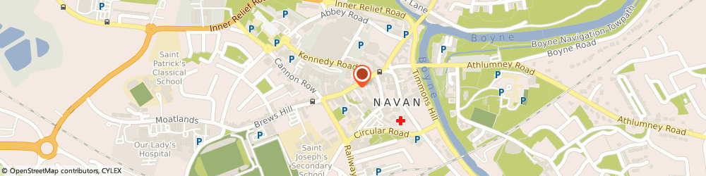 Route/map/directions to Music Box The,  Navan, 15A TRIMGATE ST