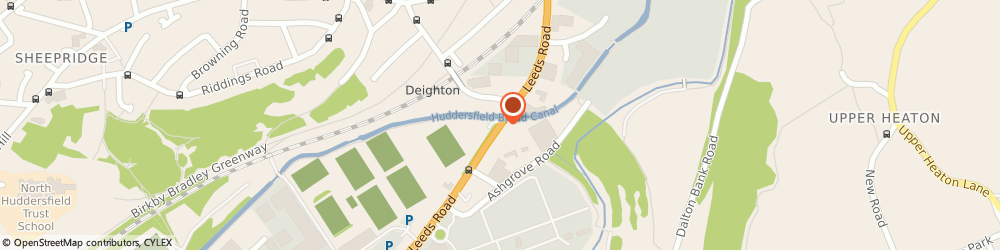 Route/map/directions to Marilliam Flowers Ltd, HD2 1YF Huddersfield, Units 1-5, The Wholesale Market, Red Doles Lane