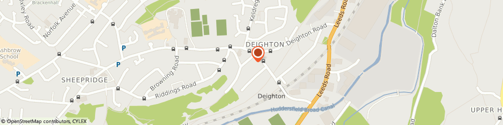 Route/map/directions to REPAIRMEDIA LIMITED, HD2 1JD Huddersfield, Ingfield Enterprise Centre, Cherry Nook Rd