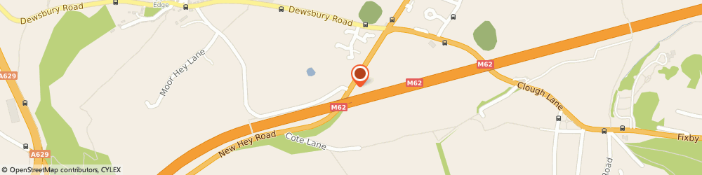 Route/map/directions to QUICKPASS DRIVIING SCHOOL, HD6 3PY Brighouse, 41 New Hey Rd