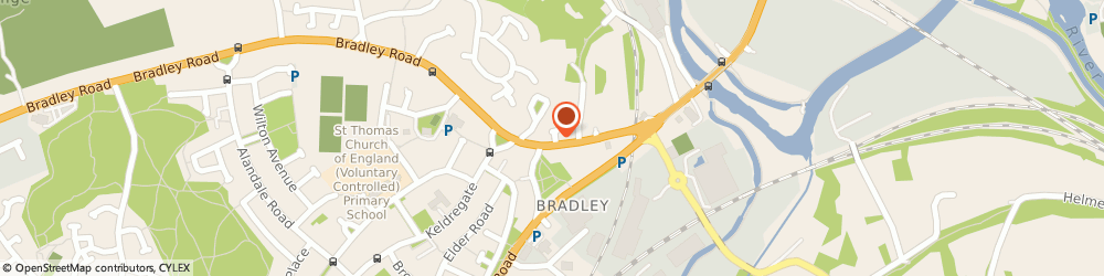 Route/map/directions to Post Office Limited, HD2 1XE Huddersfield, 1 Brooks Yard