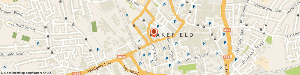 Route/map/directions to Wakefield Theatre Royal & Opera House, WF1 2TE Wakefield, 12 Drury Lane