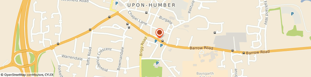 Route/map/directions to NatWest - Barton-upon-Humber ATM, DN18 5DB Barton-Upon-Humber, 14 Market Place