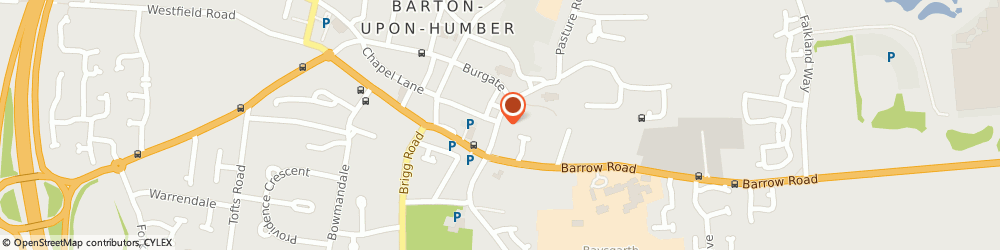 Route/map/directions to Clapson & Sons Ltd, DN18 5EU Barton-Upon-Humber, 16 Whitecross Street