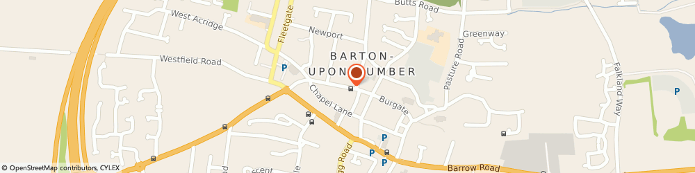 Route/map/directions to Barclays Bank, DN18 5PG Barton-Upon-Humber, 29 High Street