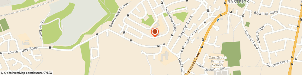 Route/map/directions to Just Driving, HD6 3JY Brighouse, 42 Malham Rd