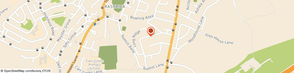Route/map/directions to Optimeyes (Huddersfield) Ltd, HD6 3RY Brighouse, 8 LYNDHURST AVENUE