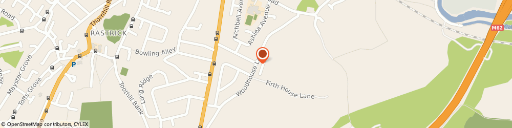 Route/map/directions to Londis - M Walton & M Campbell, HD6 3TH Brighouse, 178 Woodhouse Lane