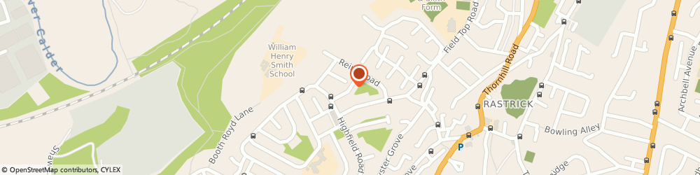 Route/map/directions to Thornhill Grange Day Centre, HD6 3JL Brighouse, Hanson Road