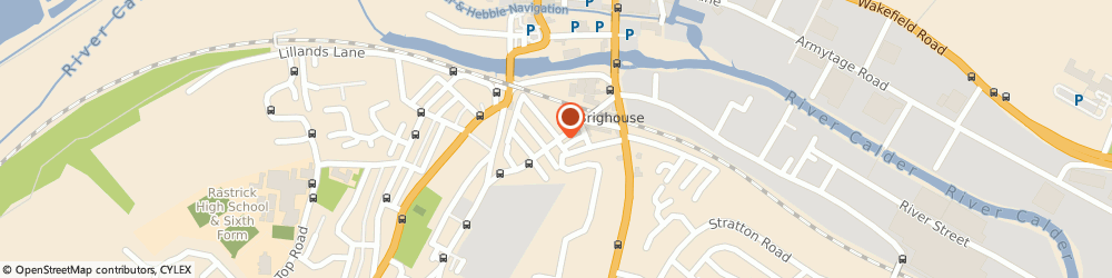 Route/map/directions to Victoria Garage, HD6 1HT Brighouse, Gooder Lane