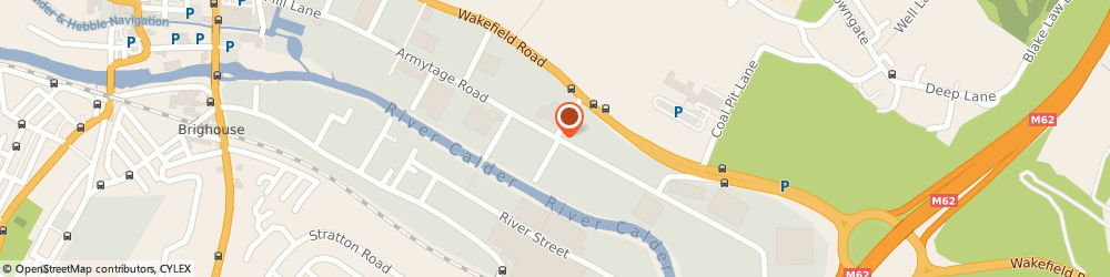 Route/map/directions to Specialist Vehicle Concepts Ltd, HD6 1QF Brighouse, ARMYTAGE ROAD INDUSTRIAL ESTATE, ARMYTAGE ROAD