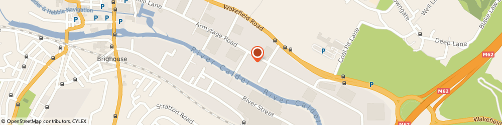 Route/map/directions to Express Catering Supplies Ltd, HD6 1QF Brighouse, Unit 4b, Armytage Rd Ind Est, Armytage Rd