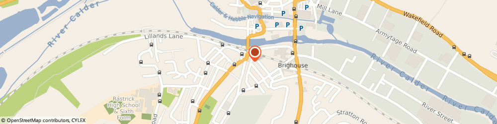 Route/map/directions to The Star Inn, HD6 3DN Brighouse, 29 Bridge End
