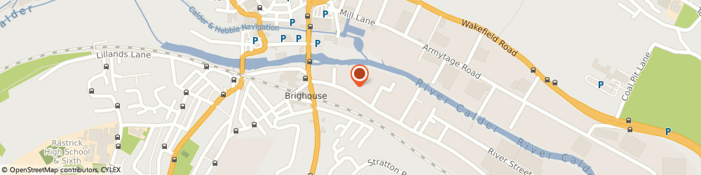 Route/map/directions to Exploria, HD6 1LQ Brighouse, Birds Royd Lane