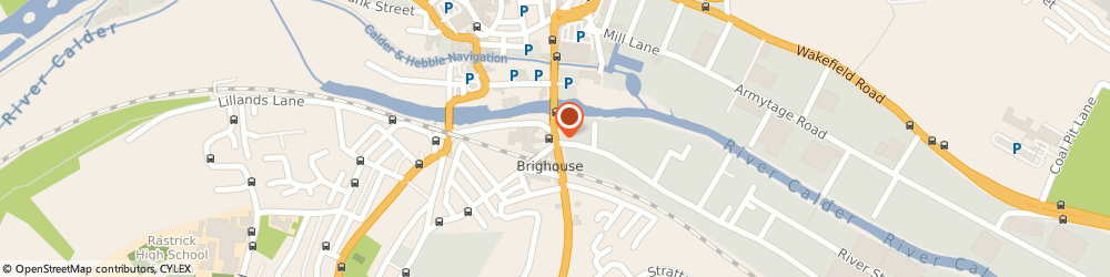 Route/map/directions to Bikers Legal Defence, HD6 1HA Brighouse, 30 Huddersfield Road