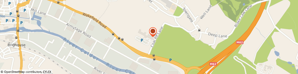 Route/map/directions to Holiday Inn Leeds - Brighouse, HD6 4HW Brighouse, Clifton Village