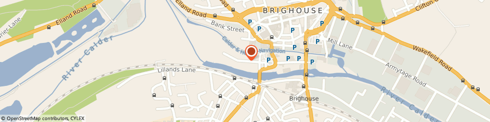 Route/map/directions to Atlas Mill Properties Ltd, HD6 1ES Brighouse, 4 Atlas Mill Rd