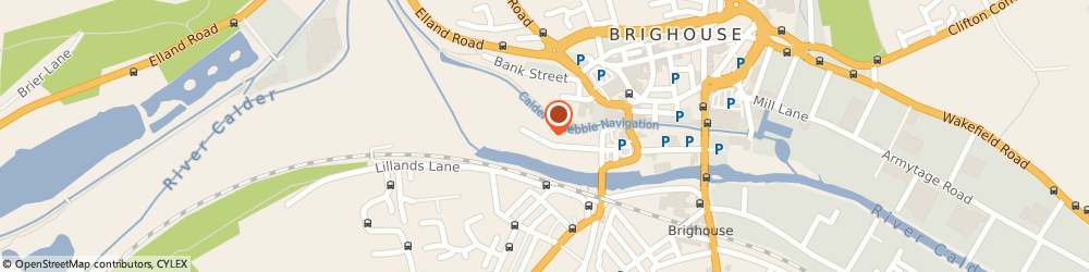 Route/map/directions to Food 4 Thought Catering Ltd, HD6 1ES Brighouse, Unit 1 Atlas Mill Road