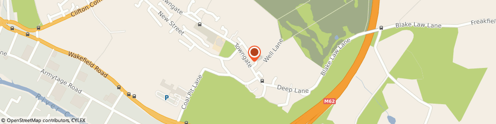 Route/map/directions to Black Horse Inn, HD6 4HJ Brighouse, 198 Towngate